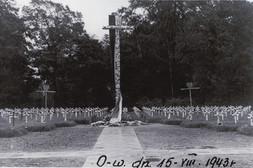 Cmentarz Wojenny w roku 1943