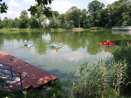Rowery wodne w Ołtarzewie