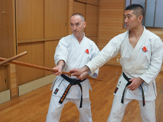 Australian instructors have come to Japan! オーストラリアから指導員が本部道場へ参りました。