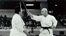 琉球古武道古武道金剛流 サイ対剣のデモンストレーション Kongo-ryu Sai vs Sword