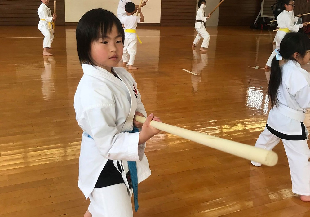 Ryukyu Kobudo Kongo-ryu Seminar for Children 2