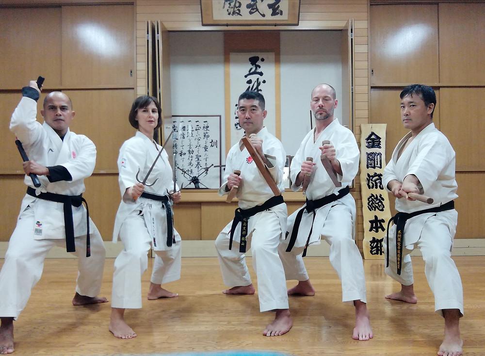 2019 Ryukyu Kobudo Kongo-ryu Seminar