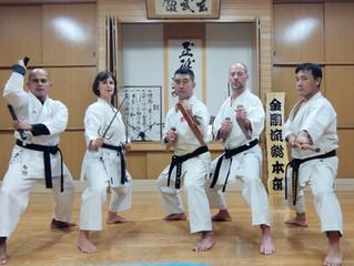 2019 Ryukyu Kobudo Kongo Ryu Seminar in Japan – A stormy seminar