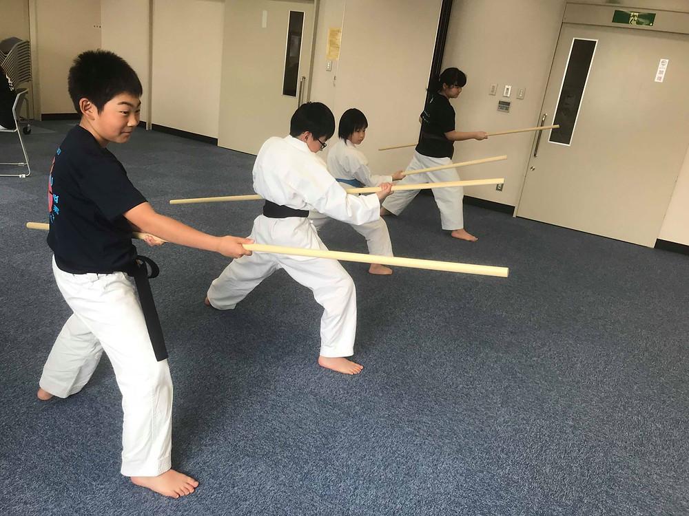 Ryukyu Kobudo Kongo-ryu Seminar for Children 5