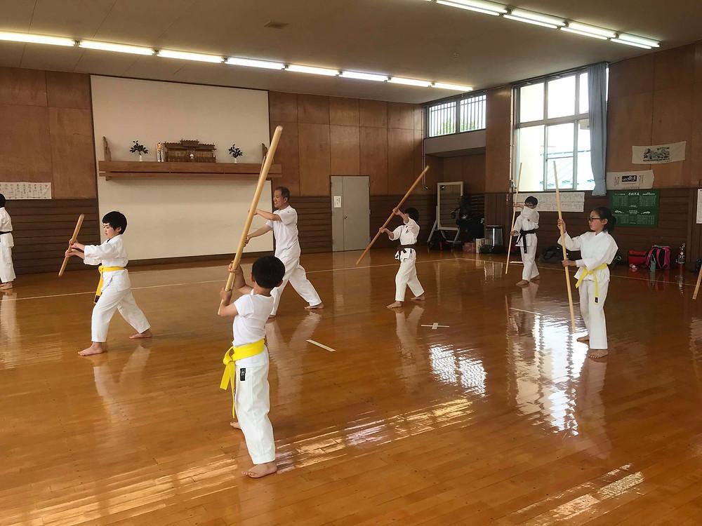 Ryukyu Kobudo Kongo-ryu Seminar for Children 4