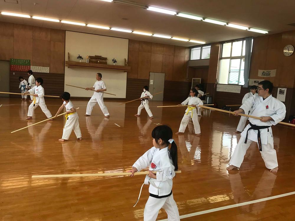 Ryukyu Kobudo Kongo-ryu Seminar for Children 3