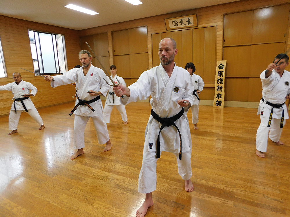 2018 Ryukyu Kobudo Kongo-ryu Seminar