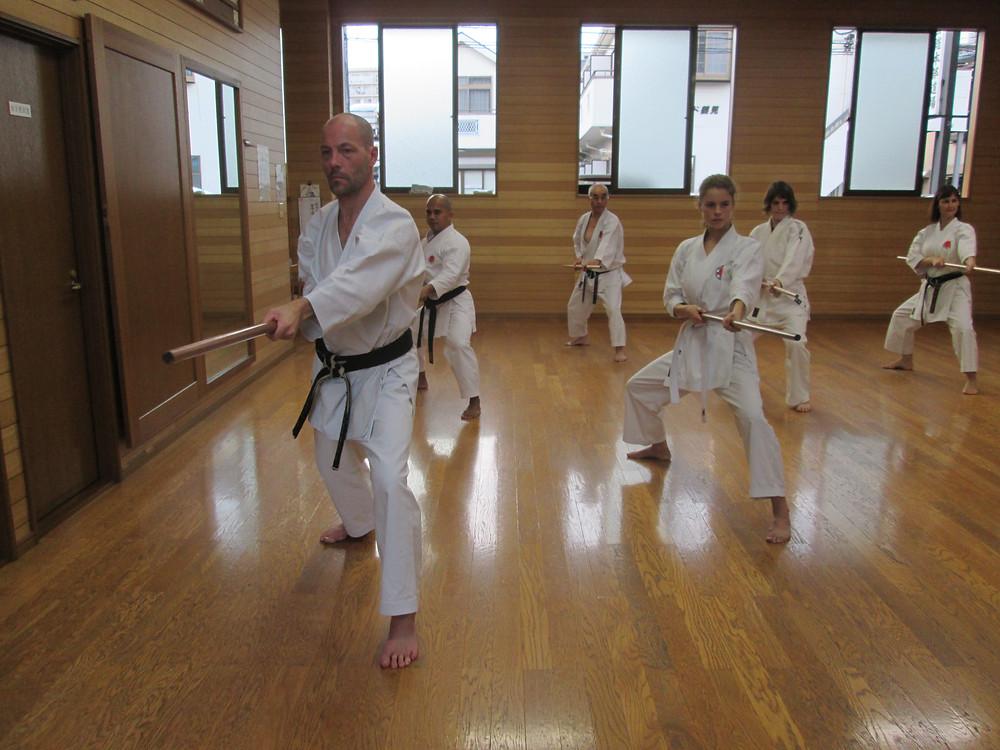 Kobudo Practice