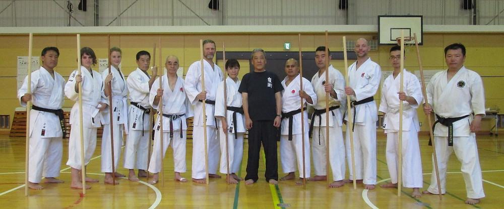 With Grand Master Sakagami