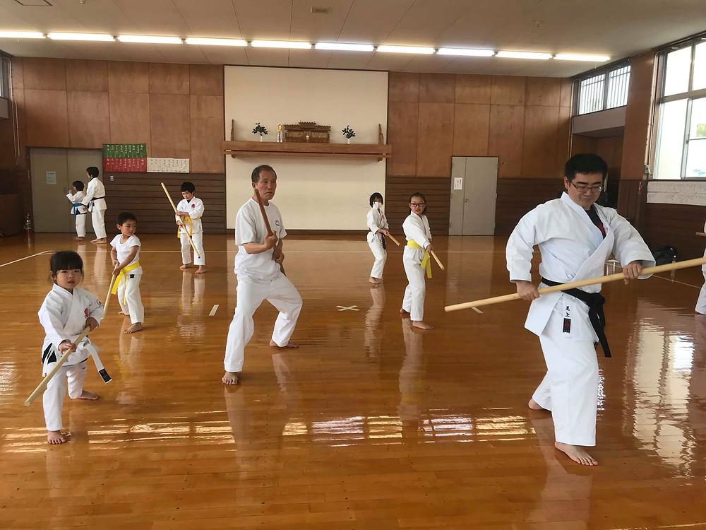 Ryukyu Kobudo Kongo-ryu Seminar for Children 1