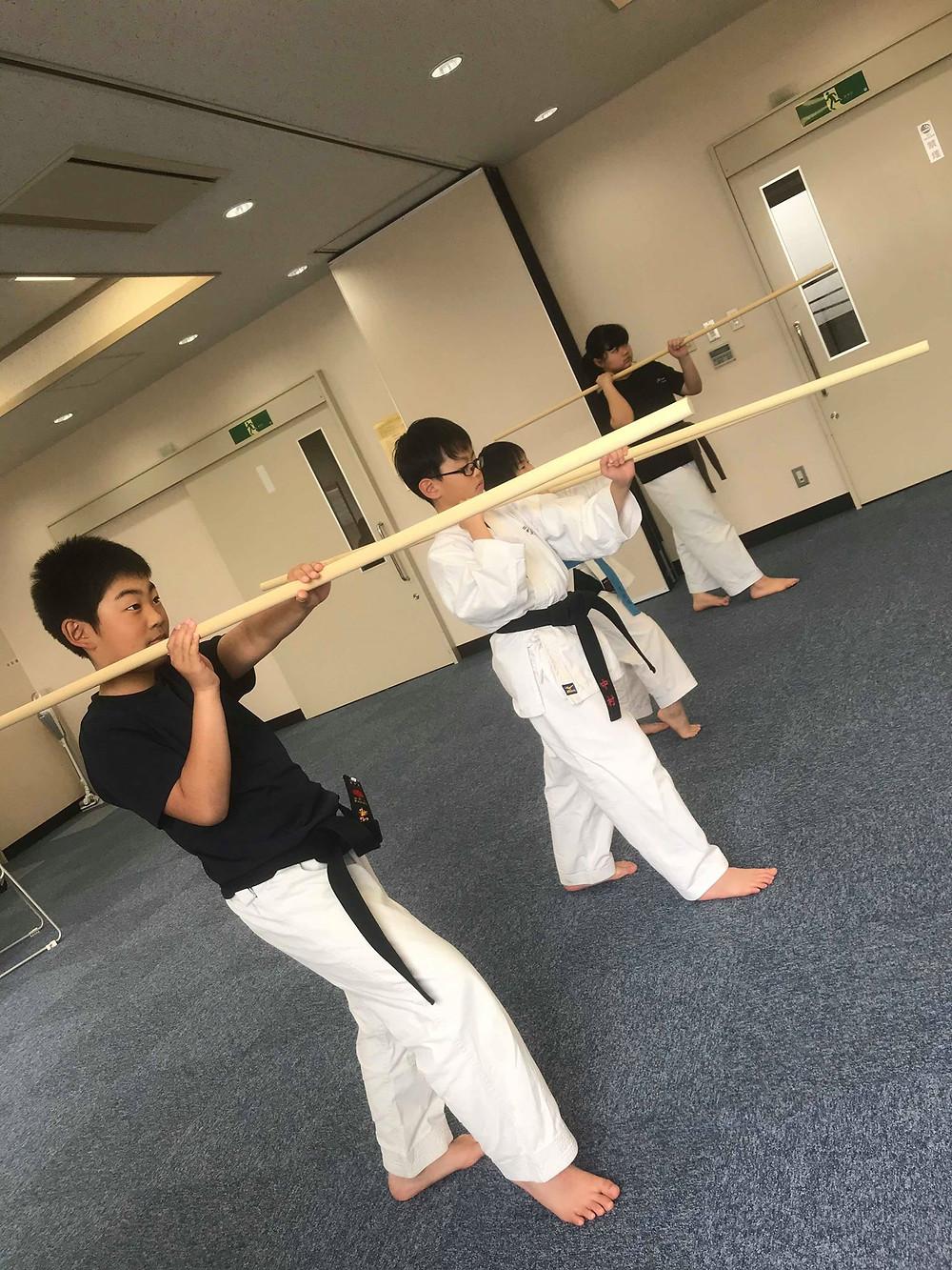 Ryukyu Kobudo Kongo-ryu Seminar for Children 6