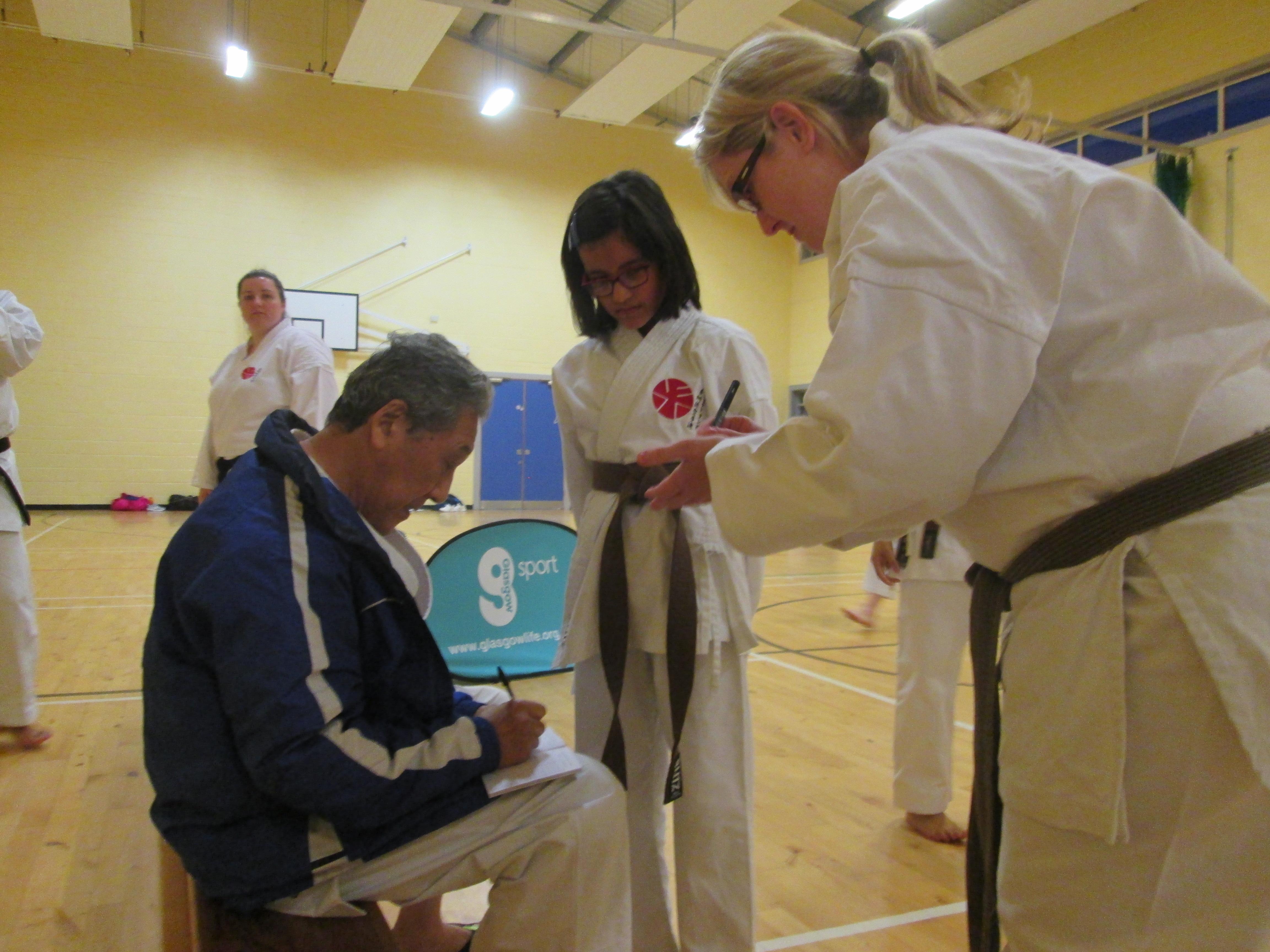 Kongo-ryu, Seminar in Scotland