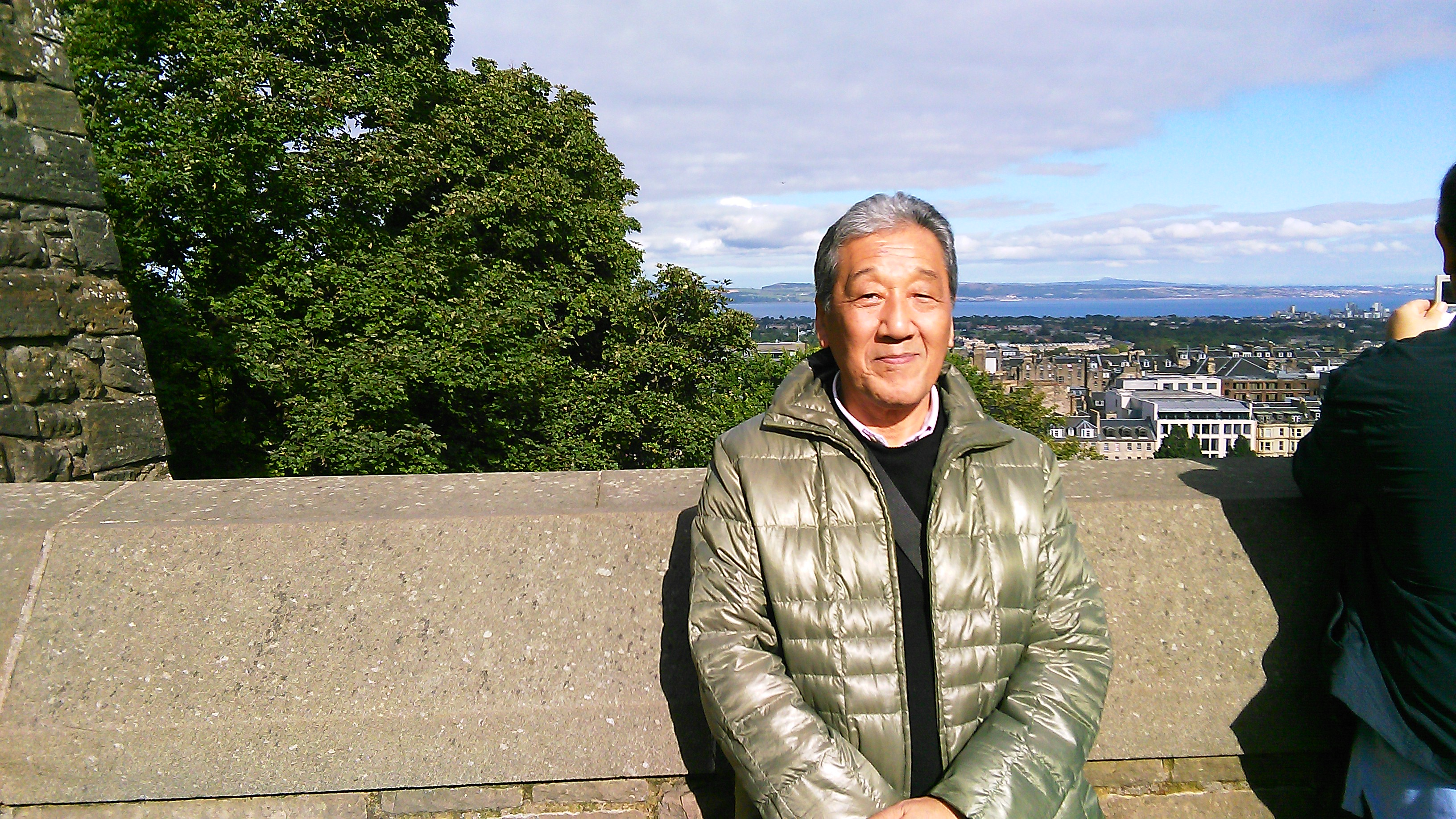 Soke Sakagami in Scotland