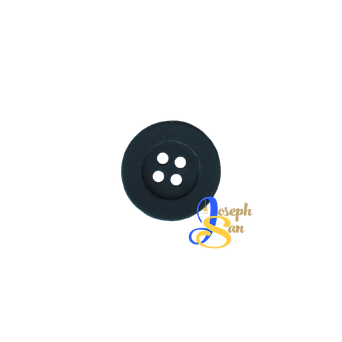 Black - 02 Round Buttons