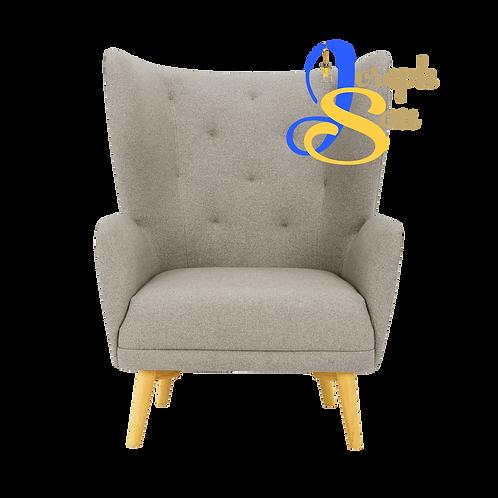 KIWAMI Lounge Chair Dolphin Baize