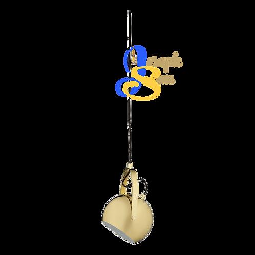 SLUG Glossy Brass Pendant Lamp