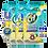 Thumbnail: Cif Power & Shine Multi-Purpose Citrus Fresh  Wet Wipes [6-Pack]