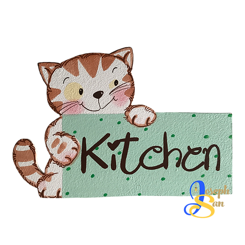 Cat - Kitchen