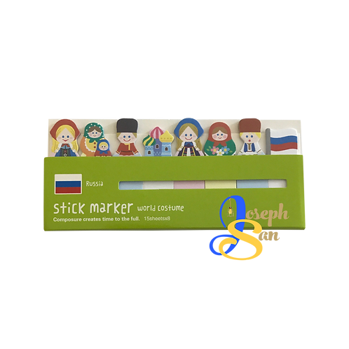 Russian Costume Stick Markers