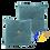 Thumbnail: DISTINTIVO 450x450 Square Small Cushion Blue Grey