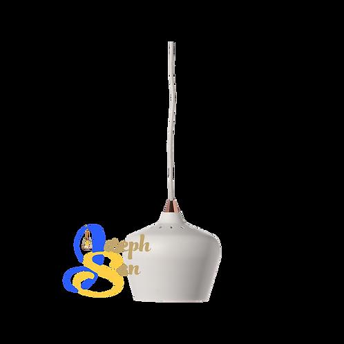 LARK ø160 Matt White Pendant Lamp