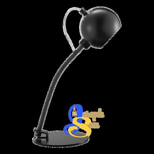 SLUG ø85 Matt Black Table Lamp