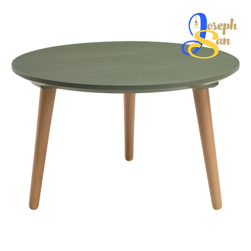 CARSYN Round Coffee Table Pickle Green
