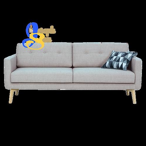 STREAM 3 Seater Sofa Timberwolf