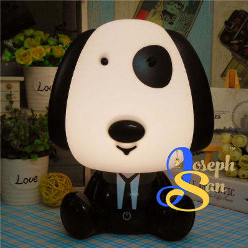 Suit-Up Doggie Table Lamp