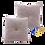 Thumbnail: DISTINTIVO 450x450 Square Small Cushion Misty Rose