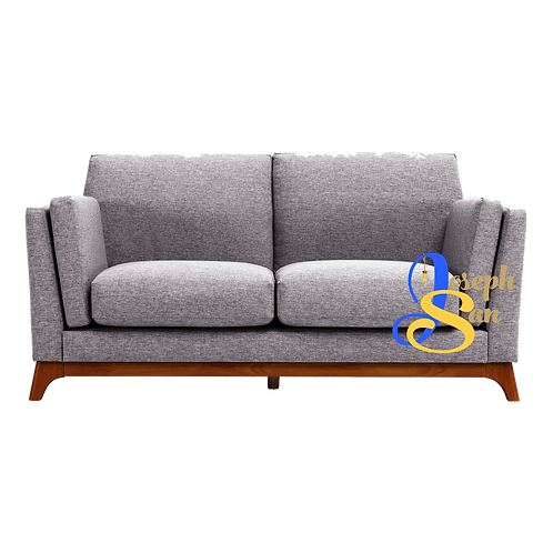 CENI 2 Seater Sofa Pebble
