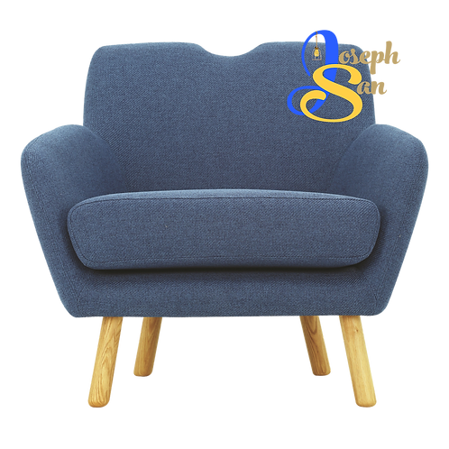 WAGON 1 Seater Sofa Midnight Blue
