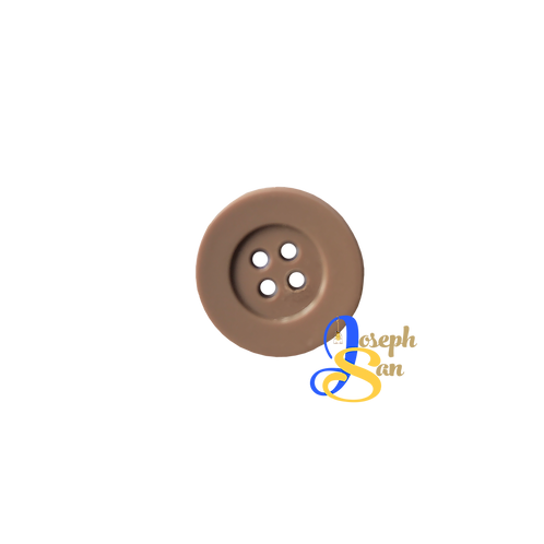 Brown - B3 Round Buttons