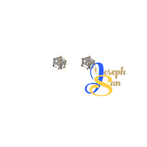 Desirie Zircon Diamond Ear Studs