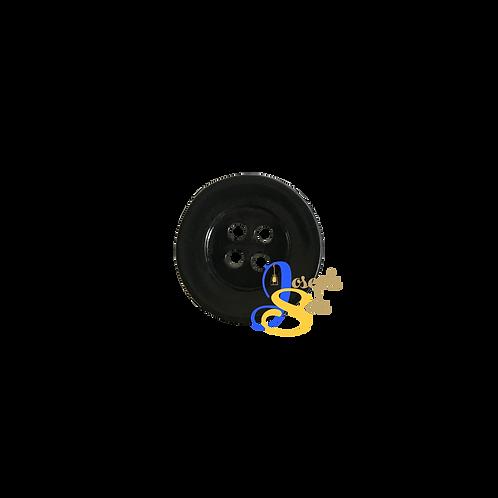 Black - 01 Round Buttons