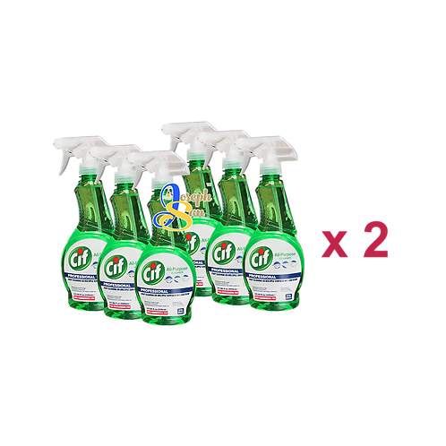 Cif Professional All-Purpose Cleaner [12 Bottles]