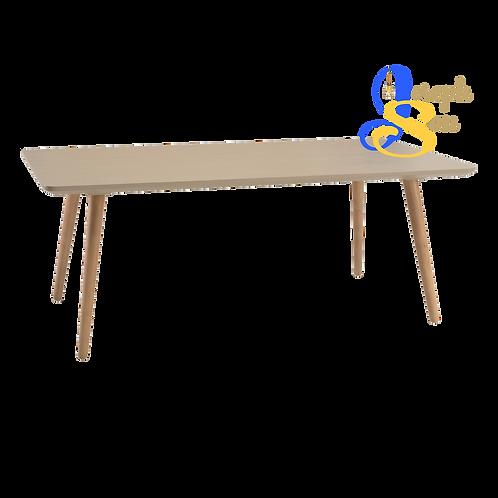 CARSYN Rectangle Coffee Table Taupe Grey