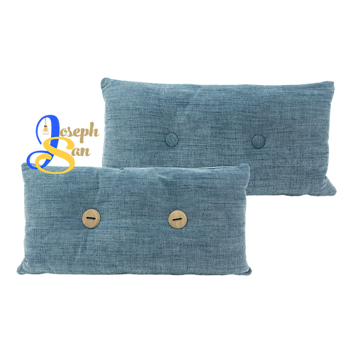 DISTINTIVO 300x600 Rectangular Small Cushion Blue Grey