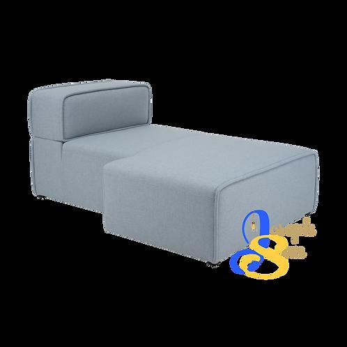 ACURA Right Chaise Aquamarine