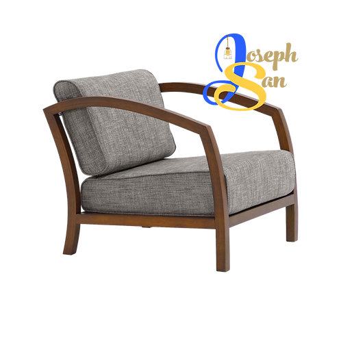 VELDA Lounge Chair Pebble Barras