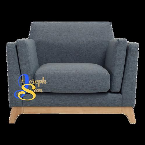 CENI 1 Seater Sofa Whale