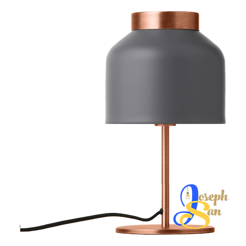 BEAVER Matt Grey Table Lamp