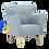Thumbnail: CRUISER Lounge Chair Platinum