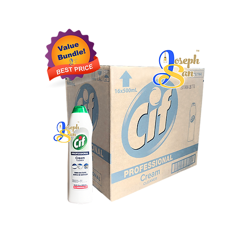 Cif Professional Cream Cleaner [16 Bottles]