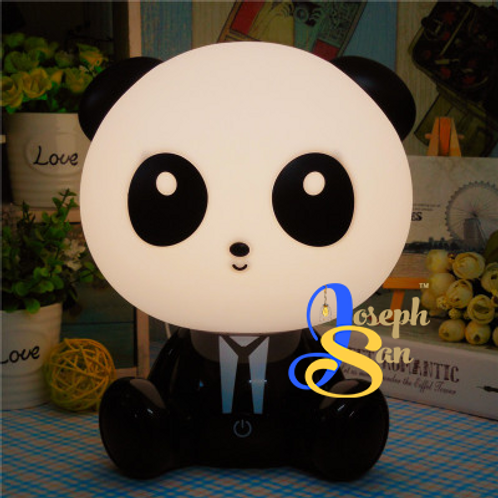 Suit-Up Panda Table Lamp