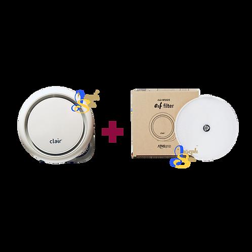 [LATEST MODEL 2020] Clair-R3 e2F Air Purifier Combo