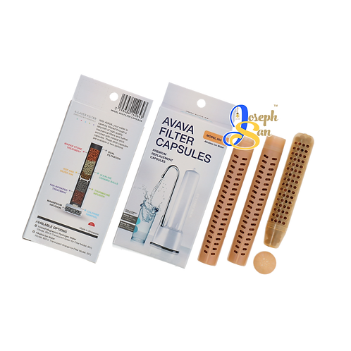 MODEL 803 Alkaline Ion Water Filter Refill Capsules