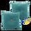 Thumbnail: DISTINTIVO 400x400 Square Small Cushion Parsley