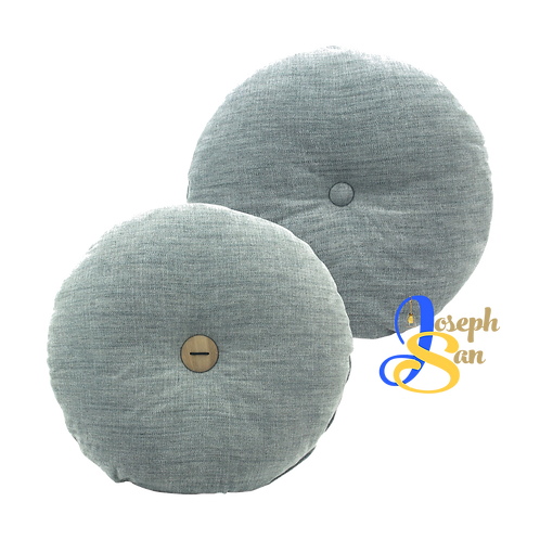 DISTINTIVO ø450 Round Small Cushion Grey Goose