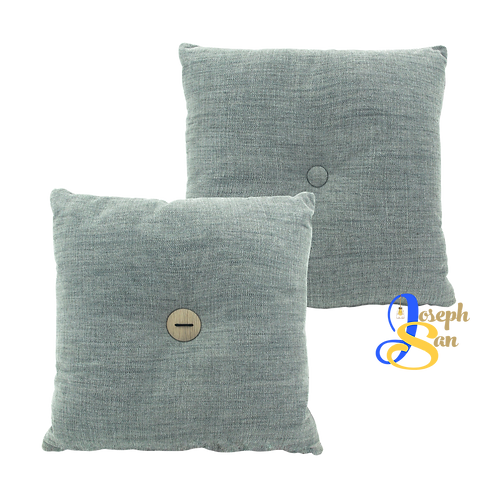 DISTINTIVO 400x400 Square Small Cushion Grey Goose